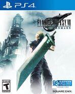 FFVII Remake North American box art for PS4