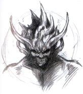 Nibel Reactor Makonoid Closeup FFVII Sketch