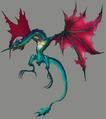 Cerulean Drake artwork for FFVII Remake