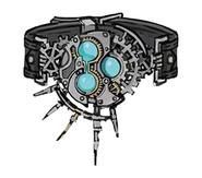 Cog Bangle artwork for Final Fantasy VII Remake