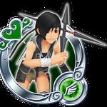 KHUX KH2 Yuffie 3★ Medal.png