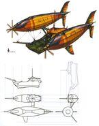 Lindblum Freighter B FFIX Art 1