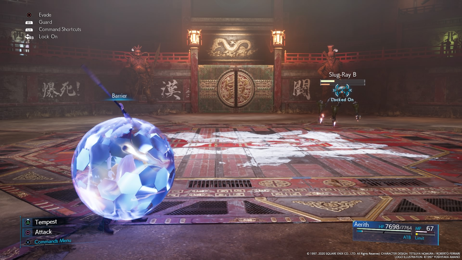 Barrier (VII Remake ability)