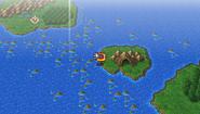FFIV PSP Adamant Isle Grotto WM