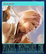 FFXIII Steam Card Bahamut