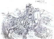 Midgar FFVII Sketch