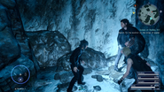 Scraps of Mystery XIV treasure in Glacial Grotto from FFXV