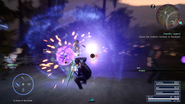 Thunder Bomb parry from FFXV