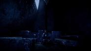 Ardyn in Angelgard in FFXV Episode Ardyn ending