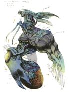 Bizarro Sephiroth colour