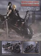 Cloud and Tifa motorcycle