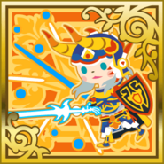 FFAB Sword Thrust - Warrior of Light SR+
