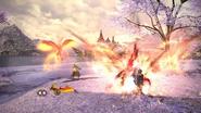 FFXIV SMN Fountain of Fire