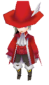 Luneth Red Mage Battle