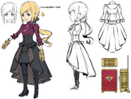 Lusse concept art for World of Final Fantasy