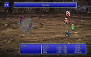 MAG using Breakga from FFIII Pixel Remaster