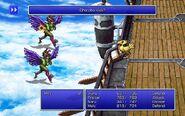 EVK using Chocobo Kick from FFIII Pixel Remaster