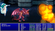 FF4PSP TAY Enemy Ability Megaflare