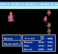 FFIII NES Fire2