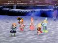 FFIV TAY iOS - Ursula's Victory Pose