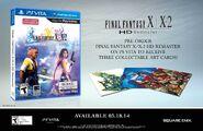 FFXX-2 HD Remaster Vita NA PO Bonus