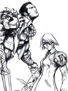Fuujin and Raijin Artwork