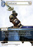 Gladiator 4-126R from FFTCG Opus