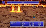 BLM using Fira from FFIII Pixel Remaster