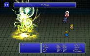 BLM using Thundaga from FFIII Pixel Remaster