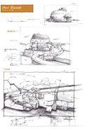 Bastok Port FFXI Art 1