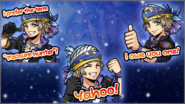 DFFOO Locke Cole Stickers