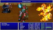 FF4PSP TAY Enemy Ability Flamethrower