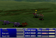 FFVII Red XIII Steal
