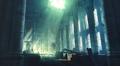 Sector 5 Slums Church pews artwork for FFVII Remake