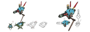 Sentry Ray artwork for Final Fantasy VII Remake