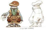 Walrus Man FFIX Art
