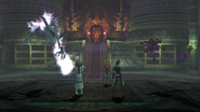 Besaid Temple Battle Scene