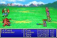FFII Mythril Spear GBA