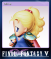 FFV Steam Card Mime