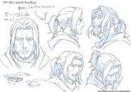 Ardyn sketches for Episode Ardyn Prologue