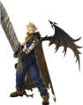 DFFNT Cloud's Kingdom Hearts Costume B