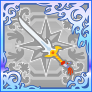 FFAB Barbarian's Sword SSR