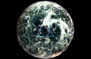 Eternal Breath symbols on planet from FFVIII Remastered