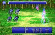 Firion using Aura IX from FFII Pixel Remaster