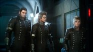 Retinue in Kingsglaive attire from FFXVRE