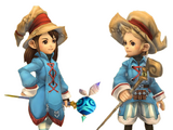 Final Fantasy Crystal Chronicles: My Life as a King characters