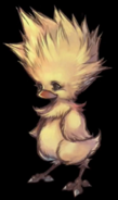 Chocobo Chick artwork from FFVII Remake