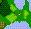 FFIII NES Castle Arguss NES