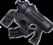 FFX2 Machine Gun Rikku