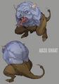 Abzu Shoat artwork for FFVII Remake